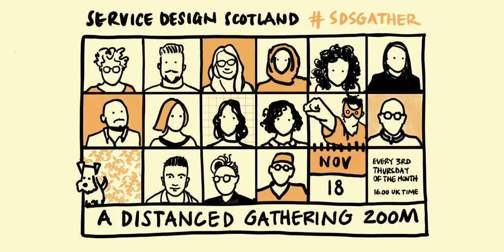 November Distanced Gathering will held on Zoom on Thursday 18 November at 4pm UK time