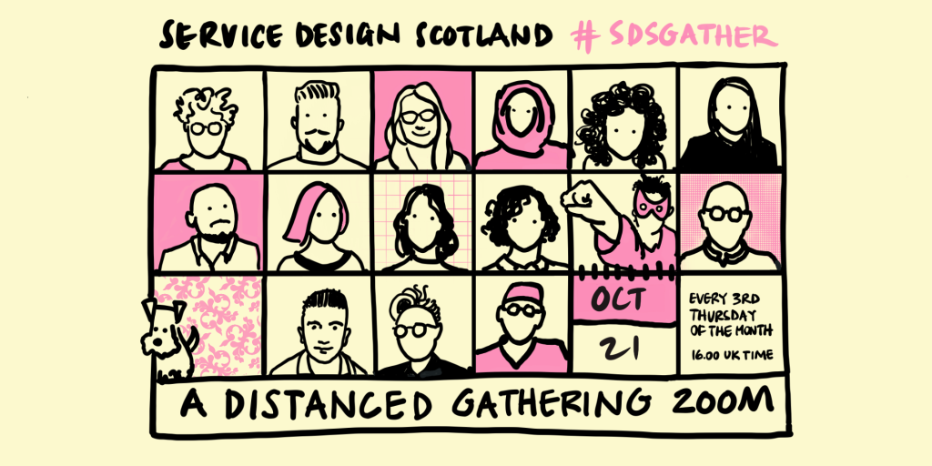October Distanced Gathering will held on Zoom on Thursday 21 October at 4pm UK time