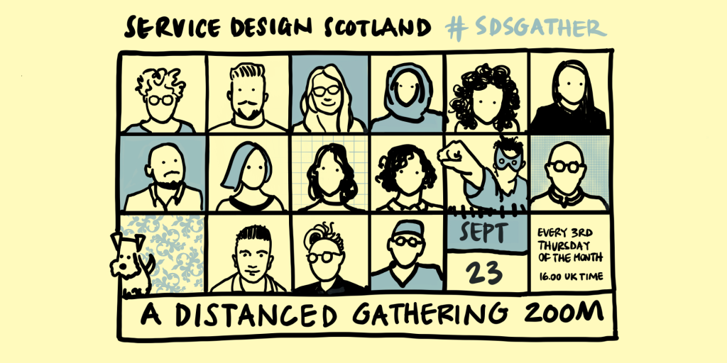 Distance Gathering is held on Zoom every 3rd Thursday of the month at 4pm UK time